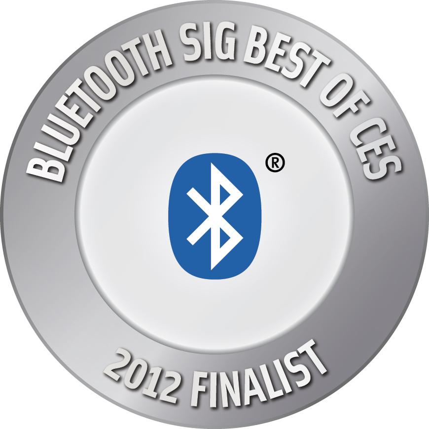 2012 Bluetooth SIG Best of CES Finalist Award Logo