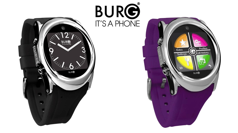 BURG 12 Smartwatch - black & purple