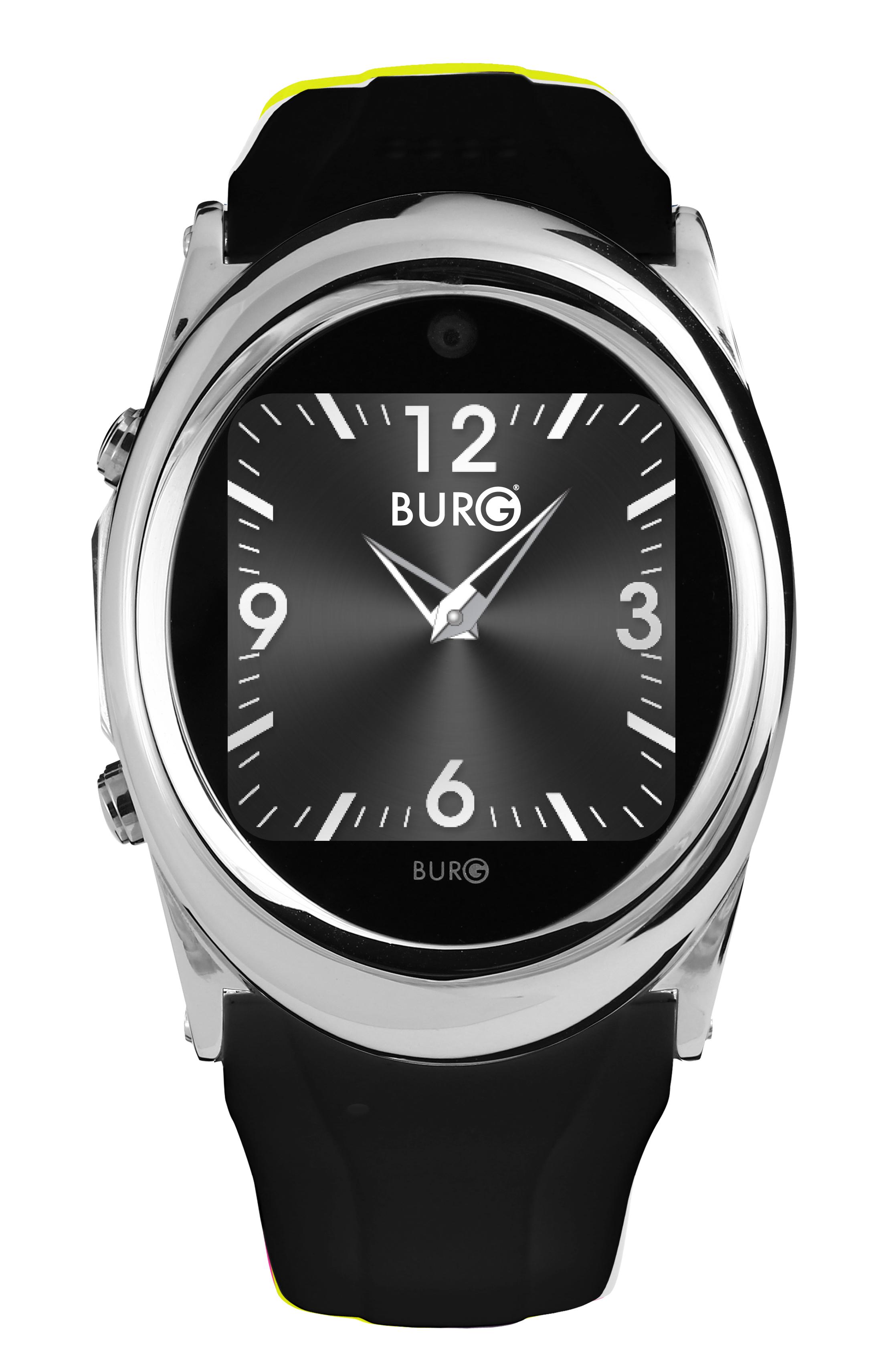 BURG 12 Smartwatch - black
