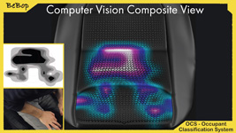 BeBop Sensors Occupant Classification System for Automotive Market - Computer Vision Composite View