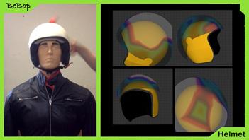 BeBop Sensors Smart Helmet Sensor System