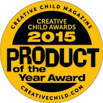 Creative Child Magazine 2015 Product of the Year Award
