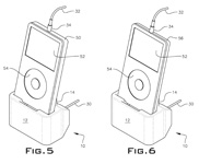 Dok Solution Patent for Adaptable Digital Music Player Cradle
