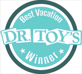 Dr. Toy's Best Vacation Children's Products Award 2016