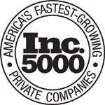 Inc. 5000 Award Logo