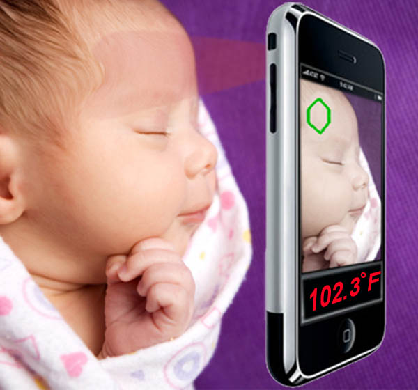 Infrared Thermometer for Smart Phone Technology