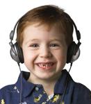 KIDZ GEAR Wired Headphones (CH68KG01) with Kid 72dpi