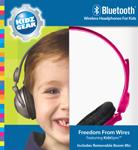 Kidz Gear Bluetooth Headphones - Box Pink