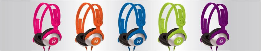 KidzControl� Volume Limit Headphones