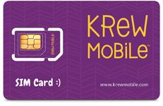Krew Mobile SIM Card