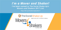 KAREN THOMAS, THOMAS PUBLIC RELATIONS WINS THE PR NEWS SOCIAL SHAKE-UP MOVERS AND SHAKERS AWARD 2017 FOR TOP INDUSTRY THOUGHT LEADERS IN THE USE OF SOCIAL MEDIA FOR THEIR BRAND OR CLIENT!