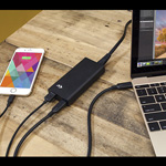 NewerTech NuPower 60W USB-C Power Adapter - in use