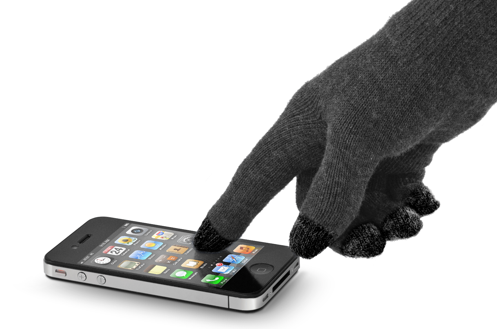 NewerTech NuTouch Gloves with iPhone