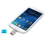OWC Dual USB Flash Drive with Android Phone