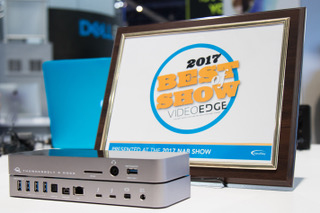 OWC Thunderbolt 3 Dock NAB 2017 Best of Show Award Photo
