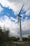 OWC Wind Turbine - close-up