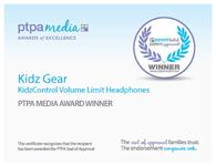 PTPA Award 2013