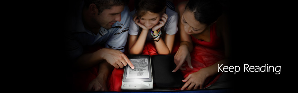 SolarKindle Lifestyle Photo - Keep Reading