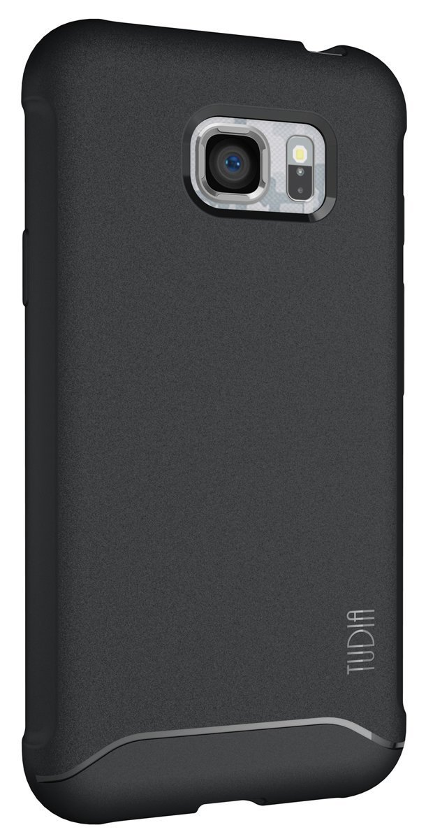 TUDIA ARCH Bumper Protective Case for Samsung Galaxy S7 Active - black back