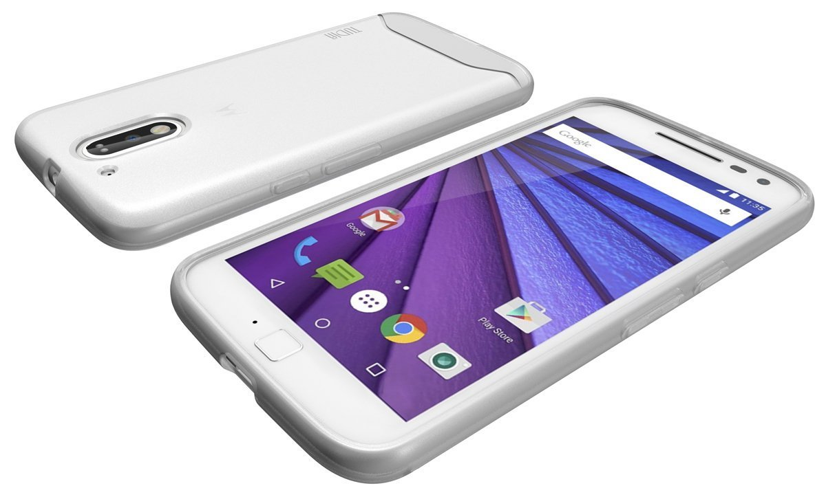 TUDIA ARCH Slim Protection for Moto G4-G4 Plus - clear