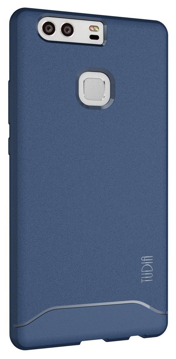 TUDIA Arch TPU Bumper Case for Huawei P9 Plus - blue back