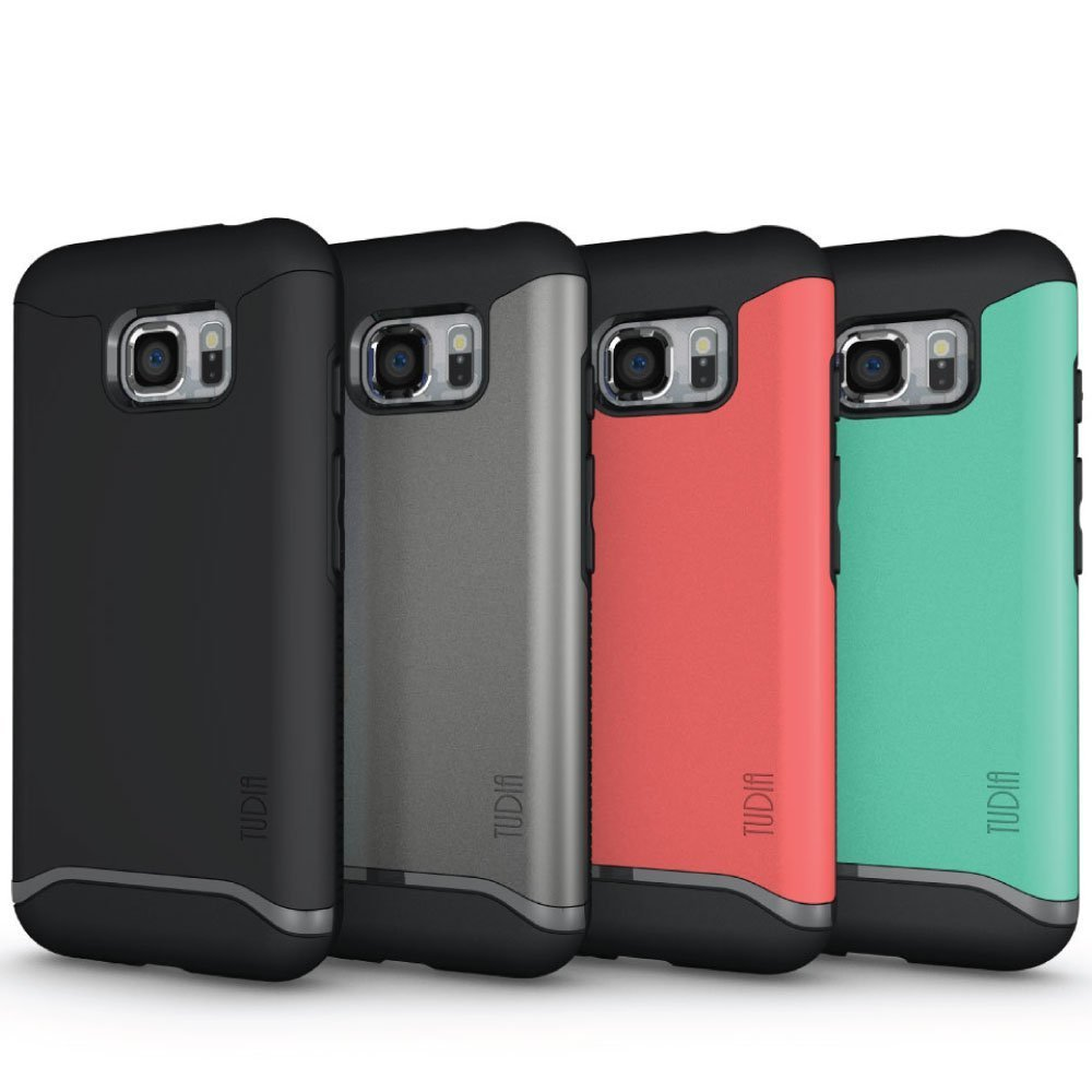TUDIA MERGE Bumper Protective Case for Samsung Galaxy S7 Active - colors