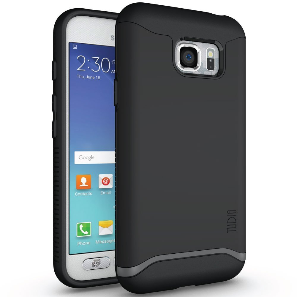 TUDIA MERGE Bumper Protective Case for Samsung Galaxy S7 Active - matte black