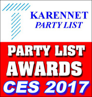 THOMAS PR ANNOUNCES THE KARENNET PARTY LIST AWARDS BEST PRESS PARTIES OF CES 2017! Thomas PR is the Publisher of The KarenNet Party List � the Longest Running Technology Trade Show Party List