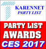 THOMAS PR ANNOUNCES THE KARENNET PARTY LIST AWARDS BEST PRESS PARTIES OF CES 2017! Thomas PR is the Publisher of The KarenNet Party List – the Longest Running Technology Trade Show Party List