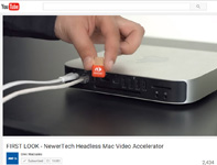 Screenshot of Video of HDMI Headless Video Accelerator