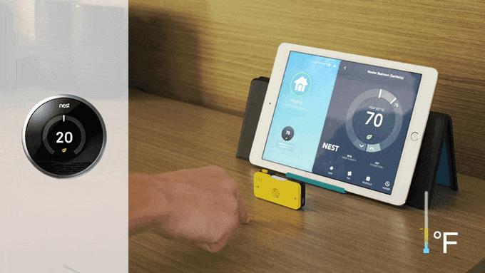 Welle - control thermostat