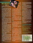 """The Great Kat Interview in Metal Maniacs Magazine - """"The Great Kat's Classical/Metal Strangle Hold"""" By Liz Ciavarella, Metal Maniacs Magazine"""