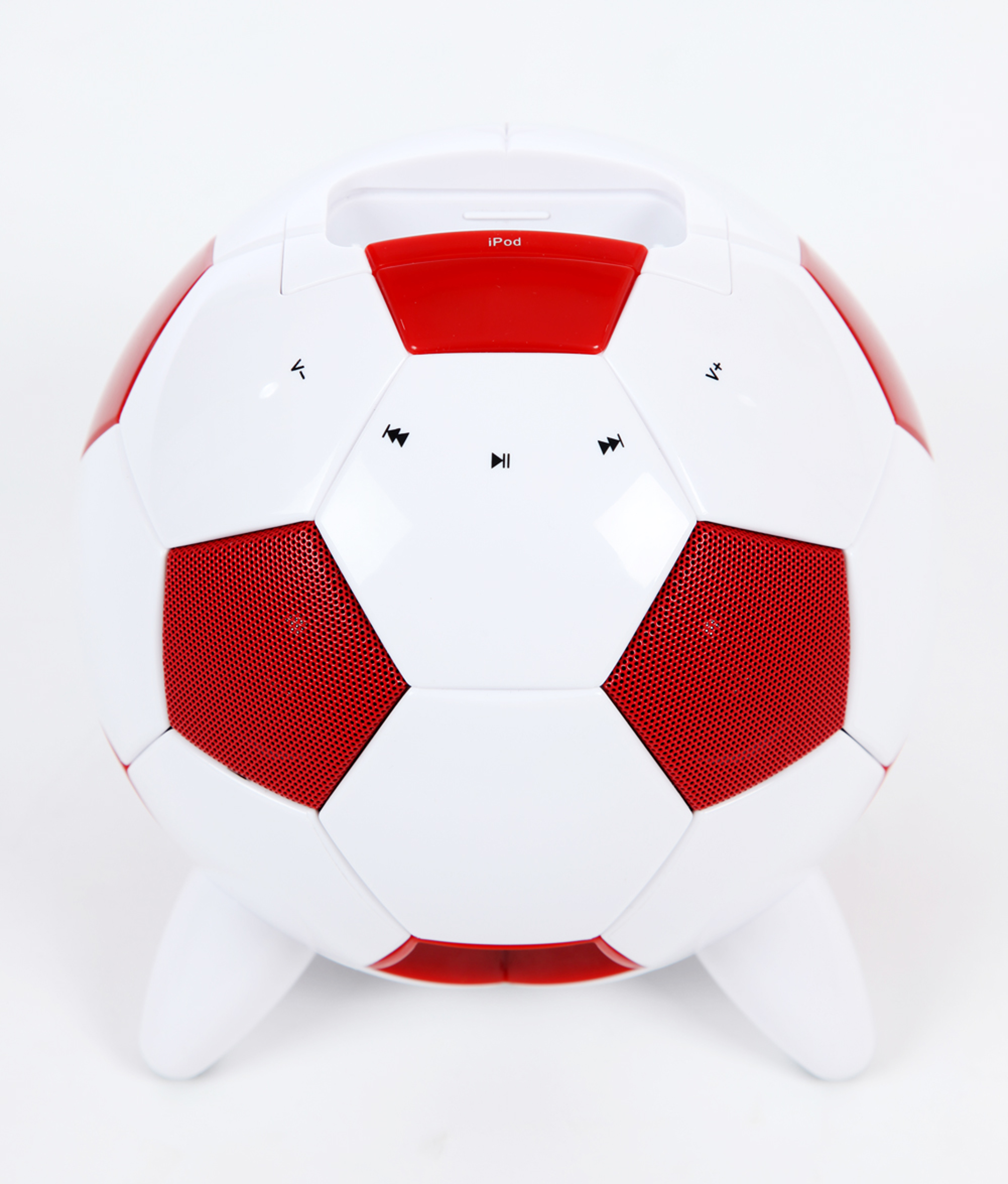 mi-Soccer Red & White