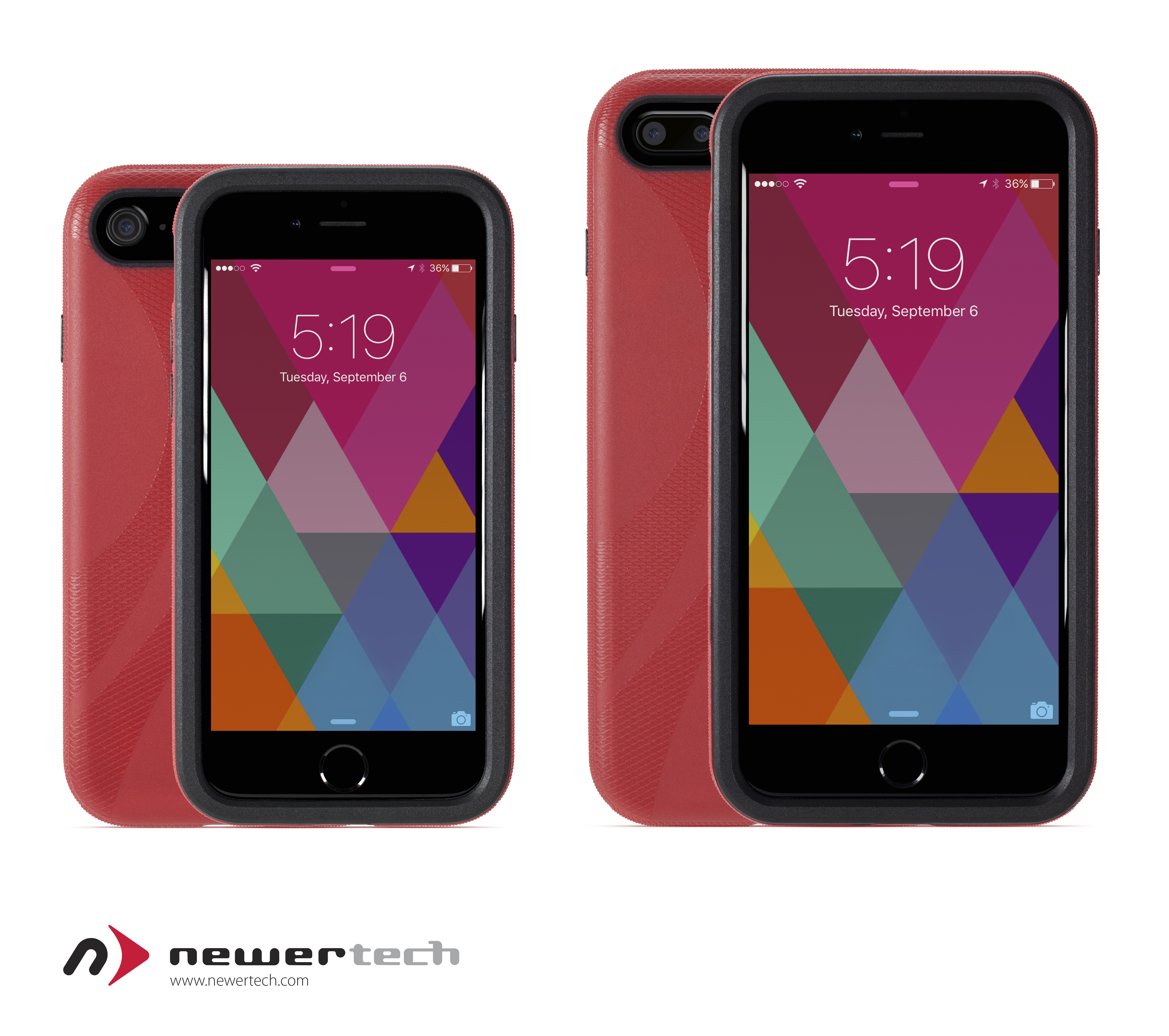 NewerTech NuGuard KXs Case for iPhone 7, 6 & 6s, Screen Protector for iPhone/iPad