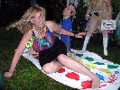 Falling at Twister Contest
