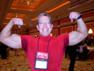 """Bruce Pechman """"Muscleman of Technology"""" Channel 9, San Diego at Showstoppers"""