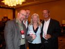 Gary Pageau, PMA, Mitch Goldstein, 30 Minute Photo, Karen Thomas, Thomas PR & Jeff Frazine, PMA at CEA at the Renaissance