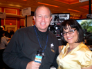 Jack Peterson and Michelle Sklar, Bnettv at Showstoppers