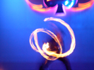 Fire Jugglers at Sony Party at The Joint