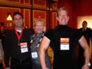 Alexander Mandel, Geekspi.net, Karen Thomas, Thomas PR, Bruce Pechman, Muscleman of Technology at the Wynn