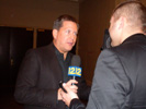 Andrew Ehinger, Channel 12 News, Long Island at CES Unveiled Event at Venetian