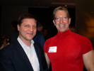 John Mezzalingua, PPC & Bruce Pechman KTLA-TV San Diego at Techwarelabs.com Party at Palms Place