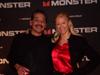 Karen Thomas, Thomas PR & James Anzaldua at Monster Cable Party