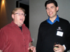Larry O�Connor, OWC & Jeff Gamet, Mac Observer at the OWC/Cooltronics Party at the Palms