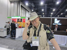 Jack Neubart, Shutterbug at the Powerocks� Booth, LVCC