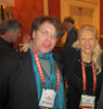 Karen Thomas, Thomas PR and Bill Kouwenhoven, Thomas PR at Showstoppers