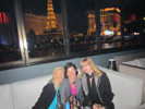 Karen Thomas, Thomas PR, Tracy Kahney, Cultofmac.com, Karen Ostlund, Hollywood Reporter at Bellagio