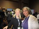 Christy Matte, About.com & Karen Thomas, Thomas PR at CES Unveiled