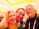 Karen Thomas, Thomas PR with Gregg Ellman, McClatchy News Service & Elmo Sapwater, Imaginginsider.com