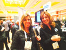 Katie Boehret, Wall Street Journal with Laurie Peterson, Kidz Gear at Showstoppers